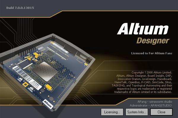 hướng dẫn cài đặt altium 10